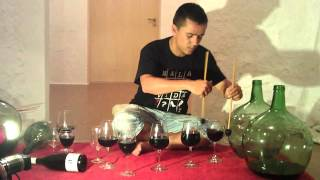 Percufest La Font De La Figuera 2012 Exhibición De Percusiones En Bodegasantonioarráez.mp4