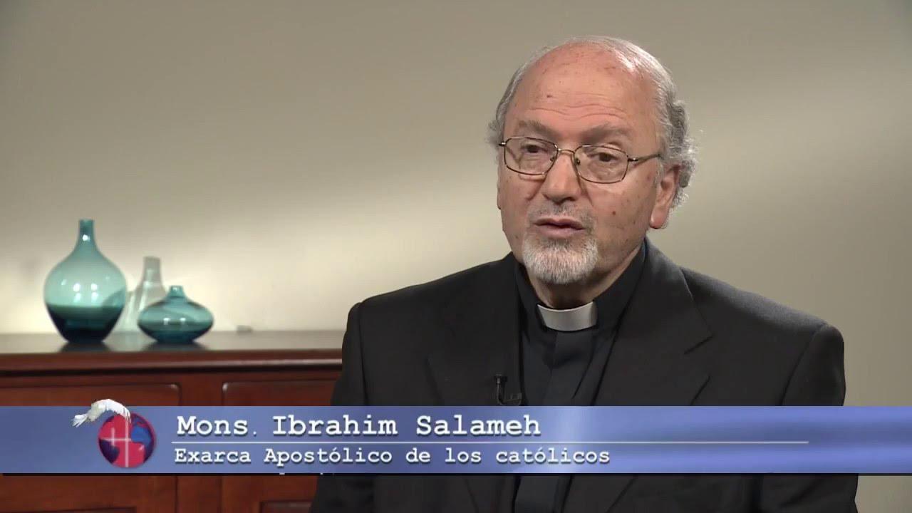 Mons. Ibraim Salame, Exarca Apostolico Greco Melkita de Argentina