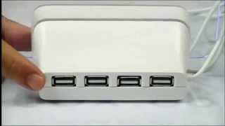 Обзор LED Часов Будильника с доской для записей