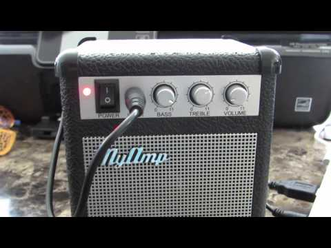 MyAmp Retro Speaker sound test
