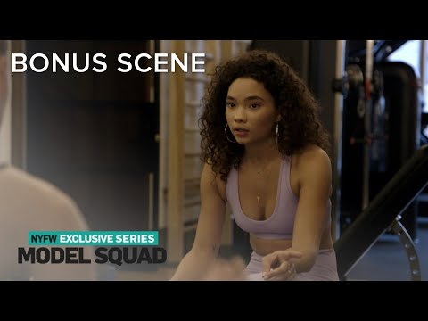 Ashley Moore Meets a Fellow Model at the Gym | Model Squad | E!