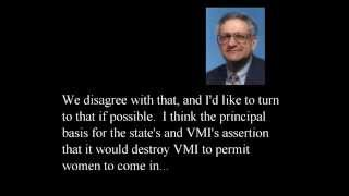 Supreme Court Clips: U.S. v. Virginia - admitting women to VMI