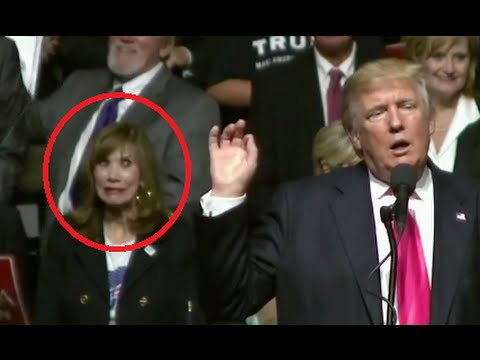 Woman Reacts To Trump Calling Hillary A Bigot