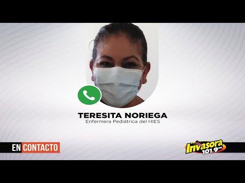 Teresita ayuda a niños hospitalizados por Covid-19 a no sentirse solos   EN CONTACTO