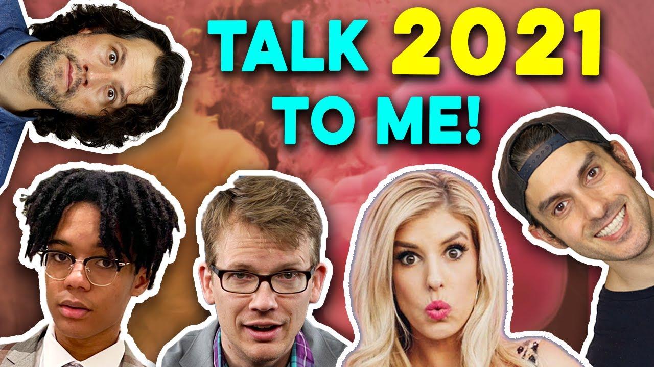 2021 Predictions for YouTube (feat. D'Angelo Wallace, Rebecca Zamolo, Hank Green)