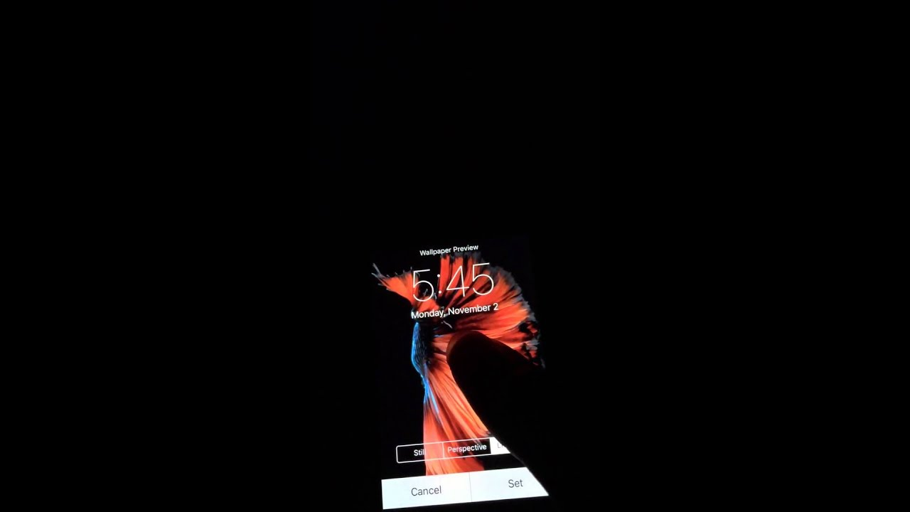 iPhone 4S turned 6S: 3D Touch, Peek-And-Pop and Live Wallpapers - YouTube