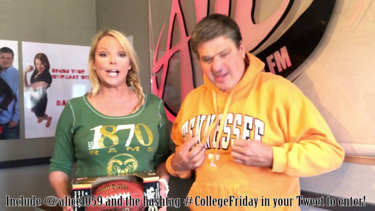 Win 1000 From College In Colorado Alice 105 9 Youtube