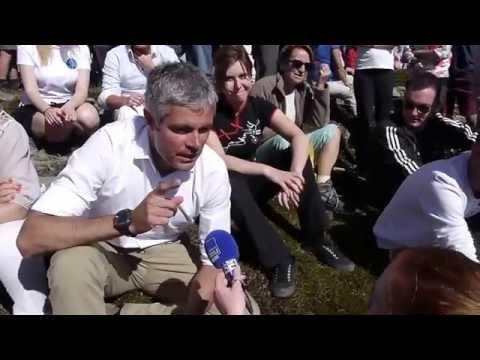 Interview de Laurent Wauquiez au sommet du Mont Mézenc