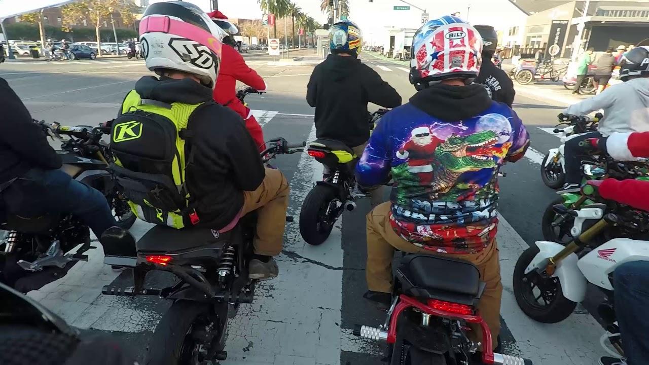 San Francisco Honda Grom Ride POV (200+ Groms!)