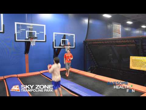 Sky Zone Tampa - High Flying Action  -  Sky Zone Tampa