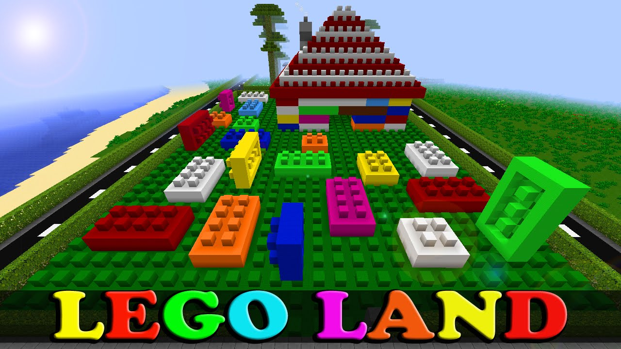 Minecraft LEGO LAND