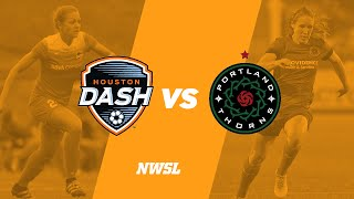 Houston Dash vs Portland Thorns full match