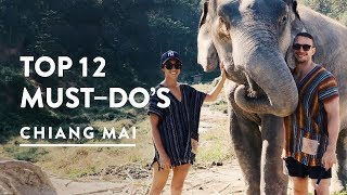 12 TOP THINGS TO DO IN CHIANG MAI, THAILAND | Things and Wha...