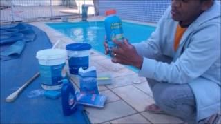 como colocar os produtos certo na piscina , veja aqui