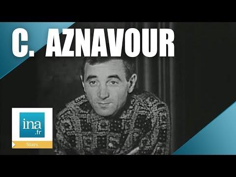 Charles Aznavour, les débuts du succès - Archive INA