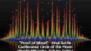 Proof of Blood - Final Battle - Castlevania: Circle of the Moon