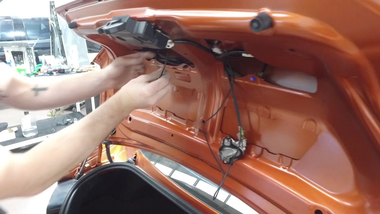 how to install reverse camera into toyota 86 factory screen youtube rh youtube com Wireless Backup Camera Wiring Diagram Ford Backup Camera Wiring Diagram