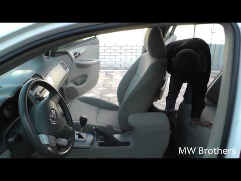 Разборка салона Toyota Corolla E140 (как разобрать салон Королла?)