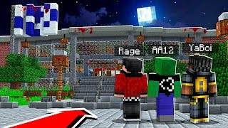 Sneaking Into a Haunted University in Minecraft Pocket Edition..