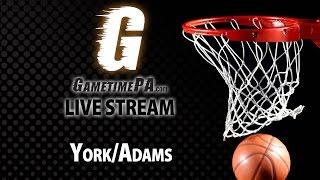 Basketball: Central York at William Penn boys