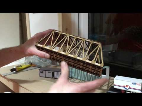 Scale Model Scenery: Vlog #4 – Girder Bridge, Oxford Ford Cargo & New OO Scale Portable Office Kit