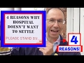 Download mp3 4 REASONS Why Hospital Doesn't Want to Settle Your MEDICAL MALPRACTICE Case Here in New York for free