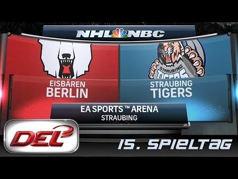 Deutsche Eishockey Liga [DEL] #015 - Straubing Tigers - Eisbären Berlin ★ Let's Commentary NHL 15