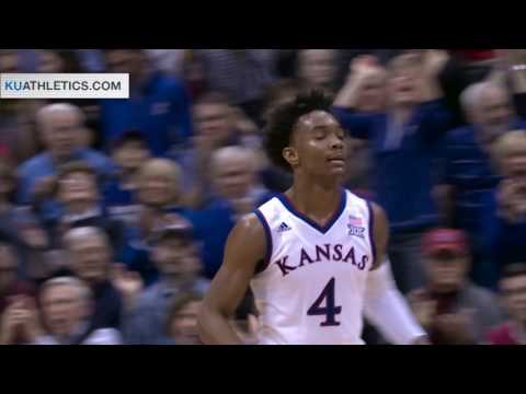 No. 2/1 Kansas defeats Texas for 18th-straight win // Kansas Basketball // 1.21.17