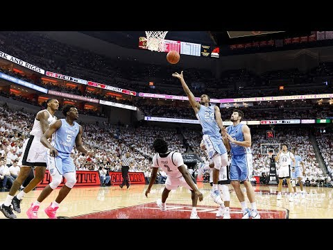 UNC Men's Basketball: Carolina Downs #15 Louisville, 79-69