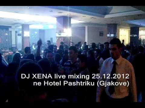 DJ XENA MIXING - 25.12.2012 in Hotel Pashtriku (Gjakove)