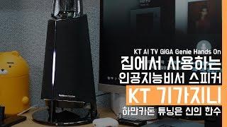 KT의 인공지능비서 기가지니 핸즈온. 2달동안 사용해본 장단점(KT AI GiGA Genie Hands On)
