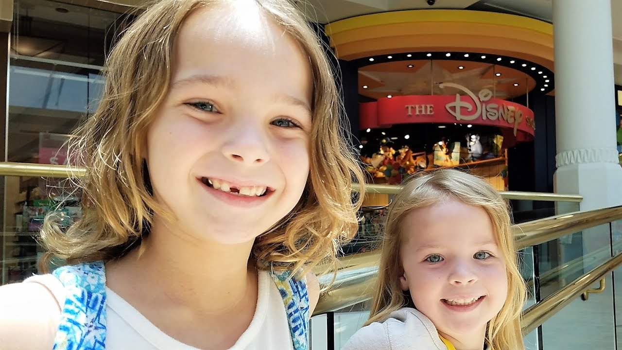 Daddy Daughter Day at the Mall ~ Disney Store ~ Chipotle ...