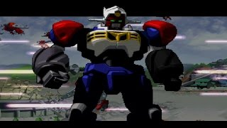Gear Fighter Dendoh Gameplay All Stages (PS1,PSX,PsOne) thumbnail
