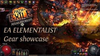 Path Of Exile 2.4: Grand Spectrum EA Elementalist - Gear showcase