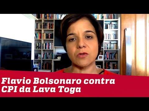 Vera: Flavio contra CPI da Lava Toga reforça afastamento da base bolsonarista