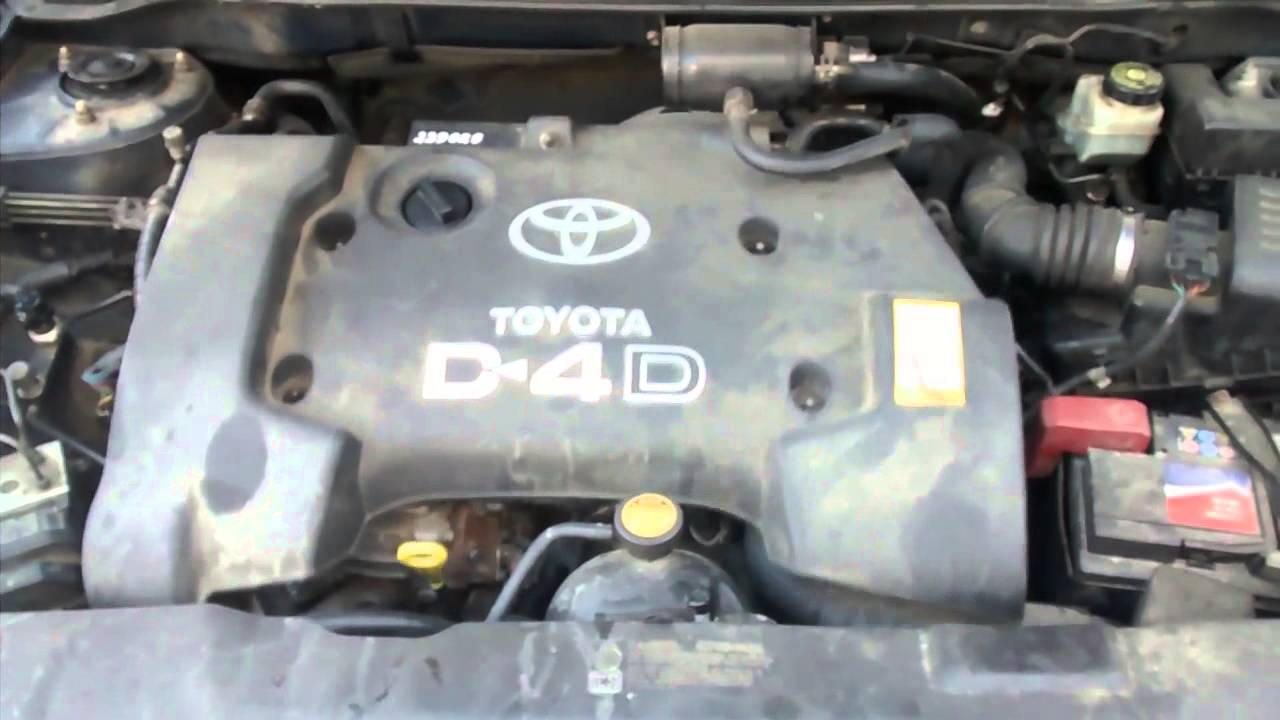 toyota corolla 2003 d4d  81kw  cold start problem