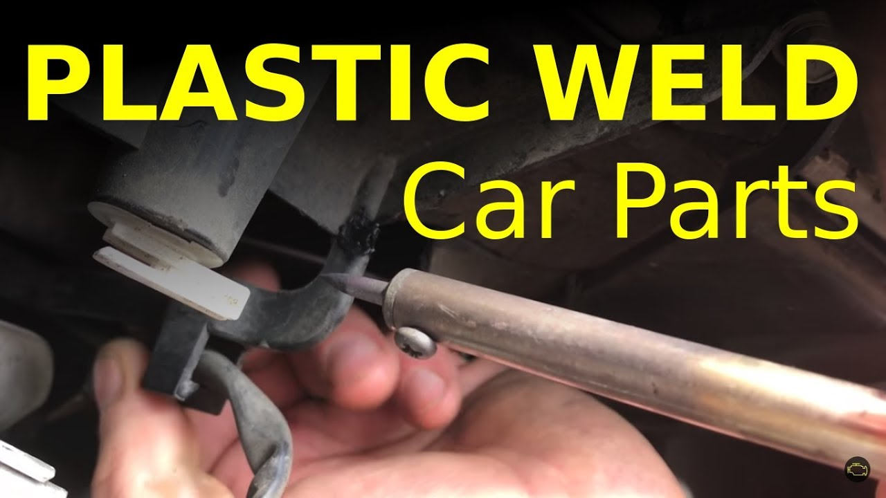 Save time and money learn how to plastic weld car parts - YouTube