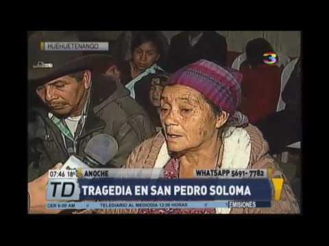 Último adiós a víctimas de la tragedia de San Pedro Soloma