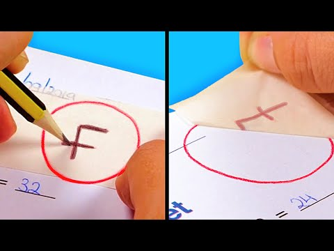 20 GENIUS TRICKS YOU SHOULD NEVER USE AT SCHOOL