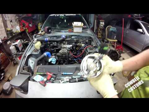 Turbo II Fb Rx7- Timing a Rotary/ Engine bay reassembly