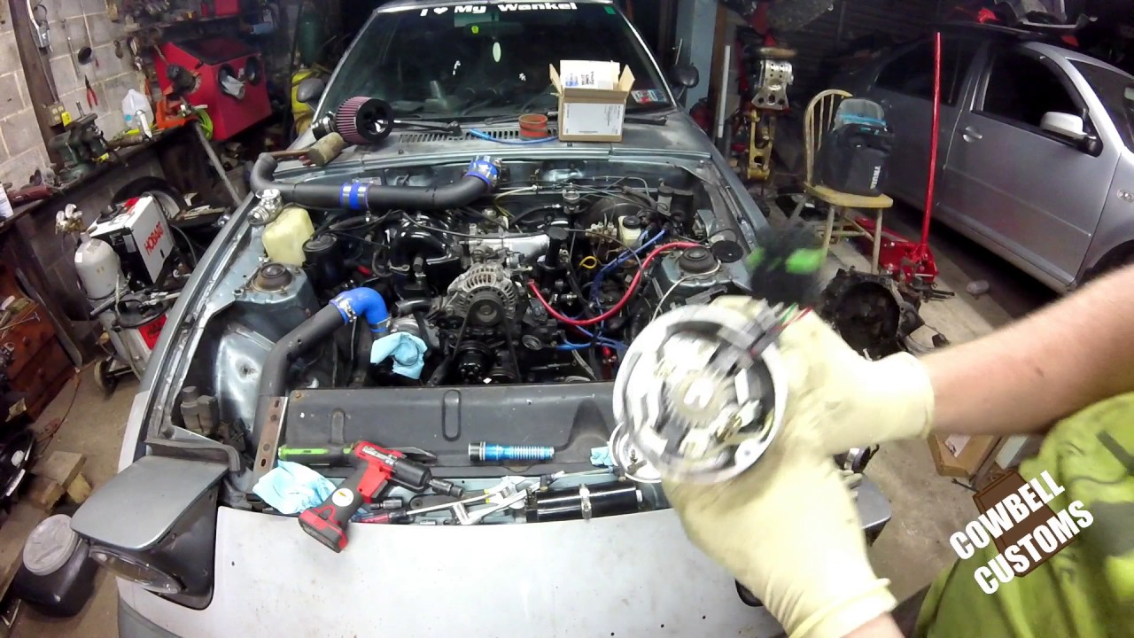 1990 mazda rx 7 engine diagram turbo ii fb rx7 timing a rotary engine bay reassembly youtube  turbo ii fb rx7 timing a rotary