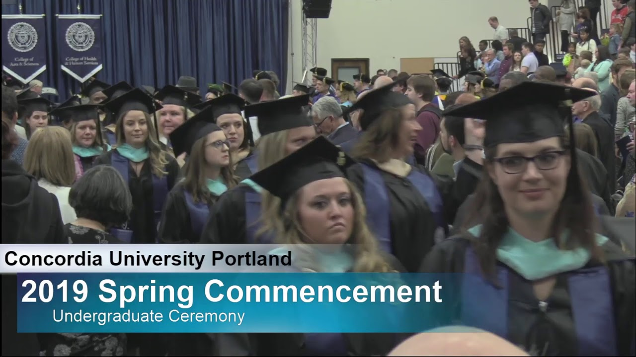 2019 Concordia University Spring Commencement #2 - YouTube