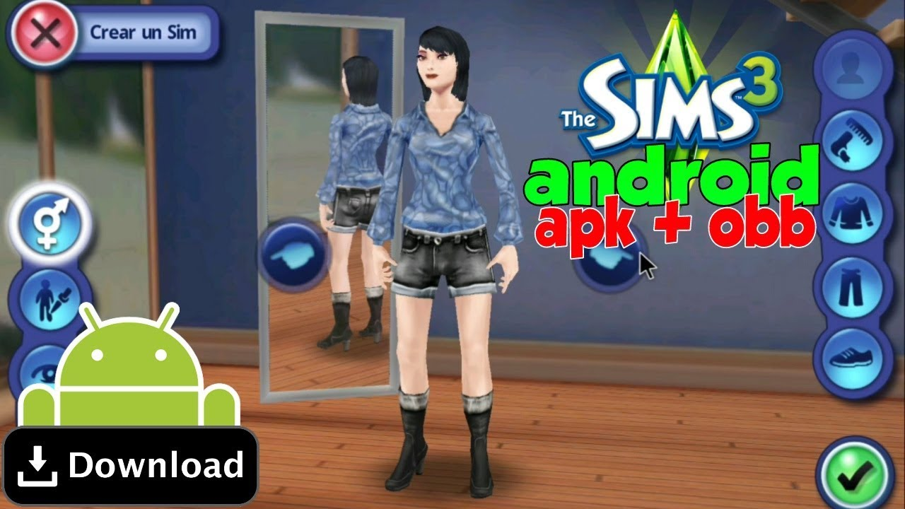 Download The Sims 3 GRÁTIS para Android!!! (APK+OBB) - DJ Gamer Forever