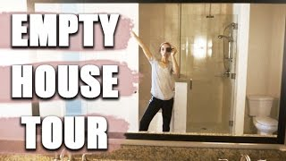 Empty House Tour | My New Townhome!