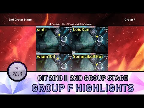 [ Highlights ] OIT 2018 | 2nd Group Stage : Group F