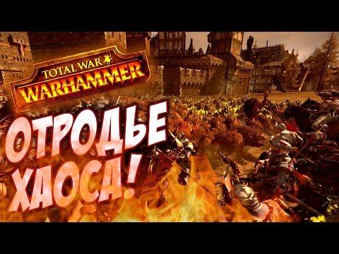 ОТРОДЬЕ ХАОСА В ДЕЛЕ! - Total War Warhammer #9