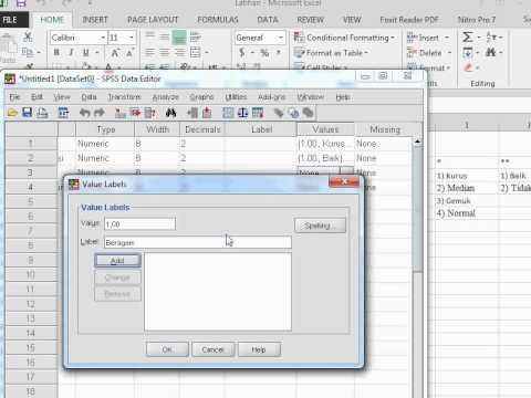 Cara Pengolahan Data Dalam Bentuk Crosstab (Crosstab With Spss)