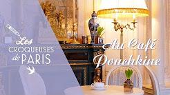 {Vidéo} Les Croqueuses au Café Pouchkine