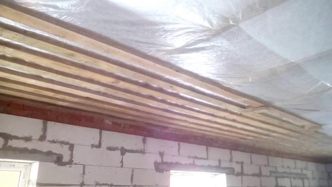 Подшиваем потолок своими руками