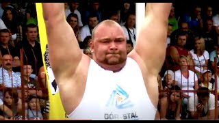 SEE Hafthor Bjornsson '1st Pro-Contest' EVER  - Giants Live Strongman Tour 2011